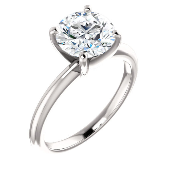Classic 4 prong Ring