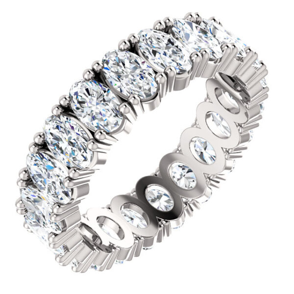 Statement Oval eternity band