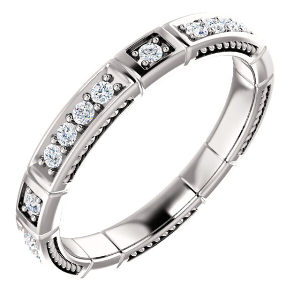 Interior design eternity band