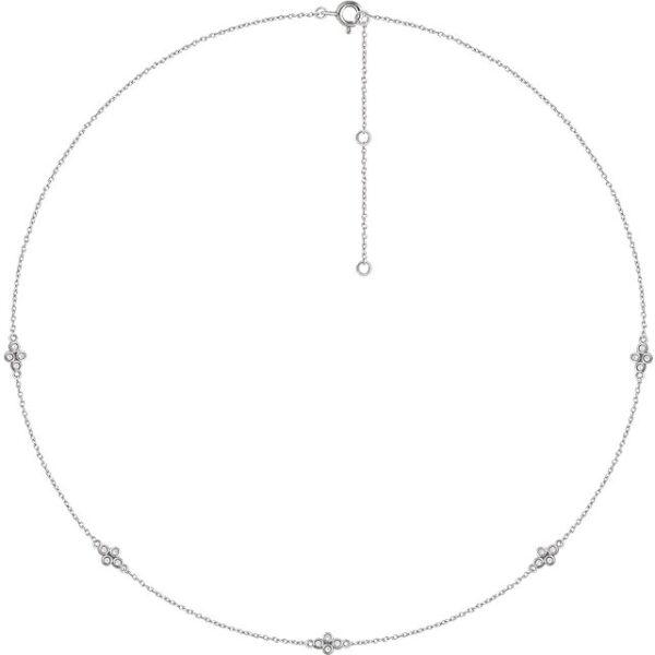 14K 1/2 carat Diamond Necklace